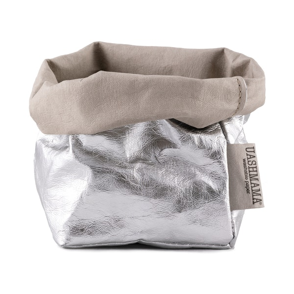 UASHMAMA Paper Bag Metallic Small   GSI