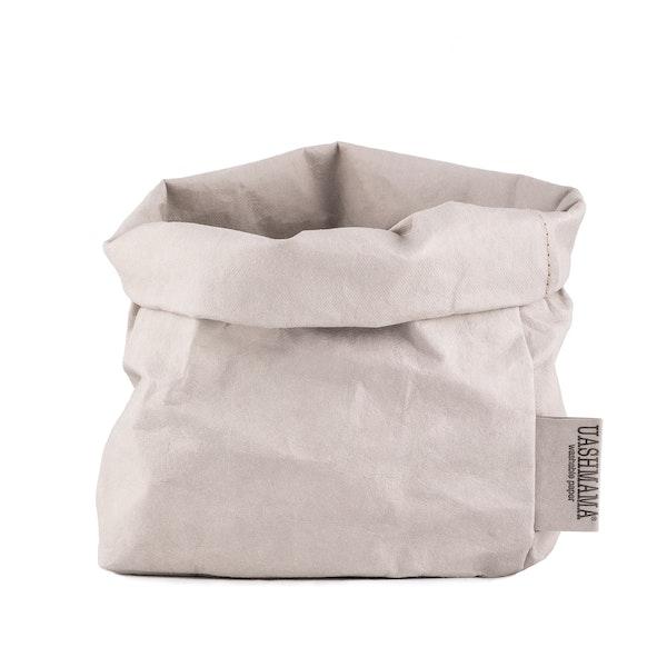 UASHMAMA Paper Bag Basic Medium   Grey