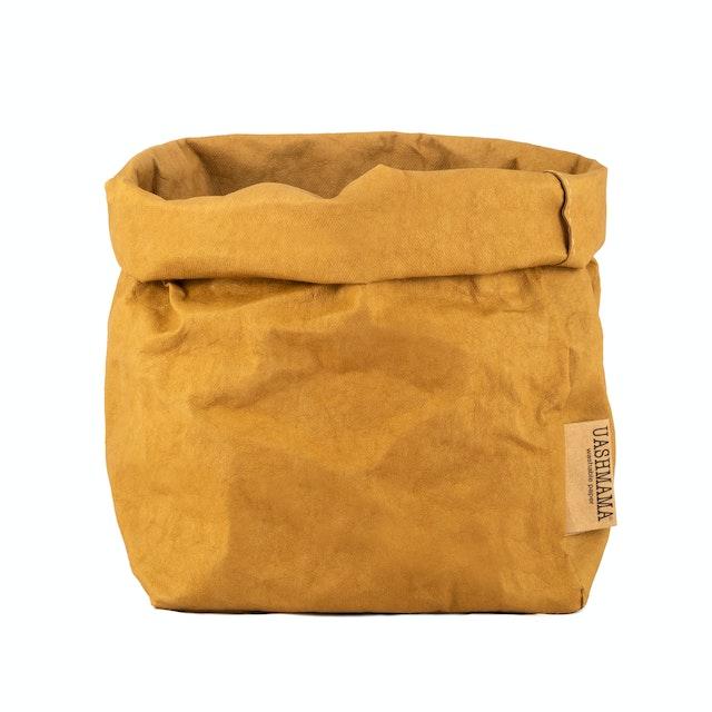 UASHMAMA Paper Bag Colored Medium  Ocra