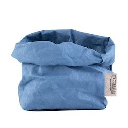 UASHMAMA Paper Bag Colored Medium  Indaco