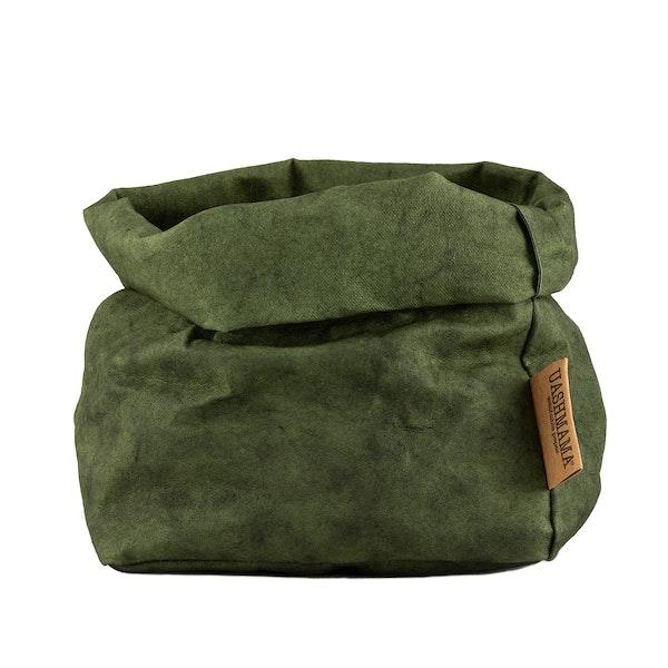 UASHMAMA Paper Bag Colored Medium  Forest