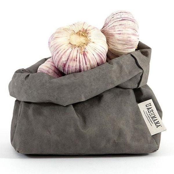 UASHMAMA Paper Bag Colored Medium  Dark Grey