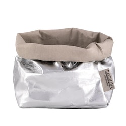 UASHMAMA Paper Bag Metallic Medium   GSI