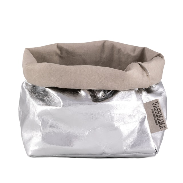 UASHMAMA Paper Bag Metallic Medium   GSI
