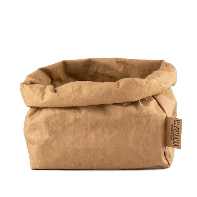 UASHMAMA Paper Bag Basic Large   Avana