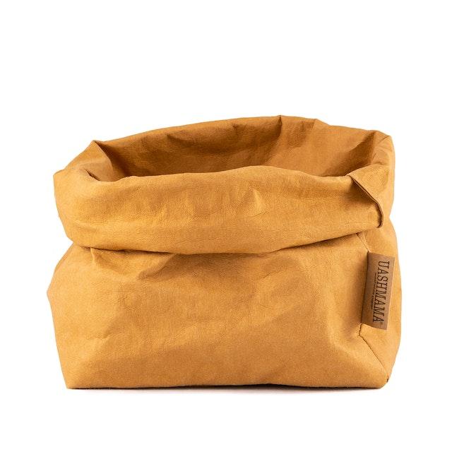 UASHMAMA Paper Bag Basic Large   Camel