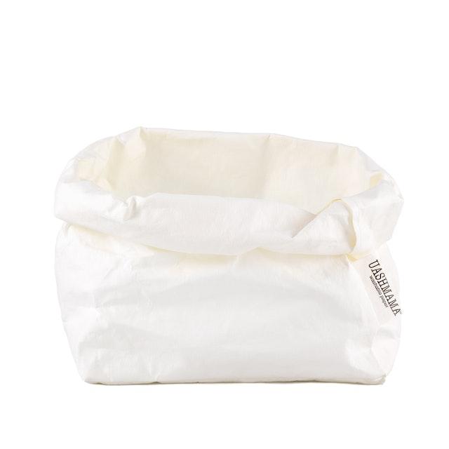 UASHMAMA Paper Bag Basic Large   White