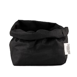 UASHMAMA Paper Bag Basic Large   Black