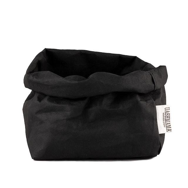 UASHMAMA Paper Bag Basic Large   Black