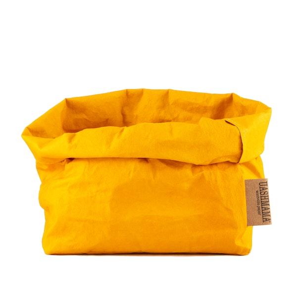 UASHMAMA Paper Bag Colored Large Senape