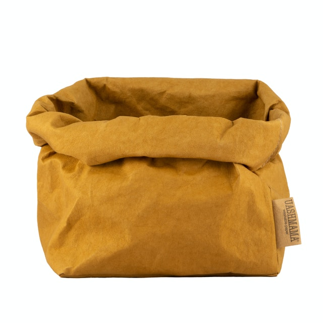 UASHMAMA Paper Bag Colored Large Ocra