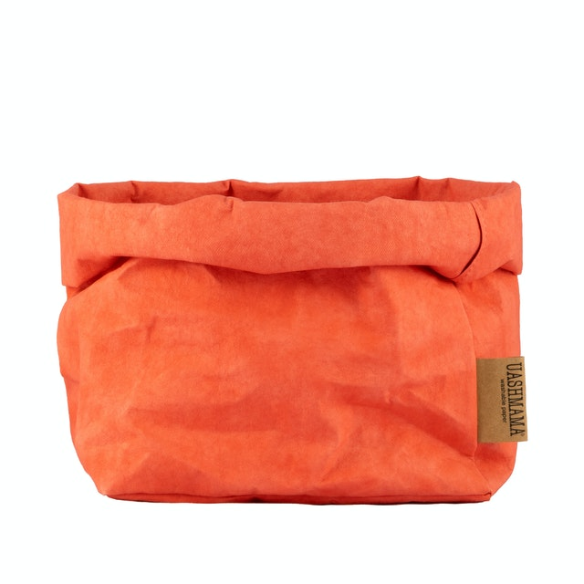 UASHMAMA Paper Bag Colored Large Corallo