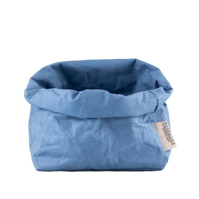 UASHMAMA Paper Bag Colored Large Indaco