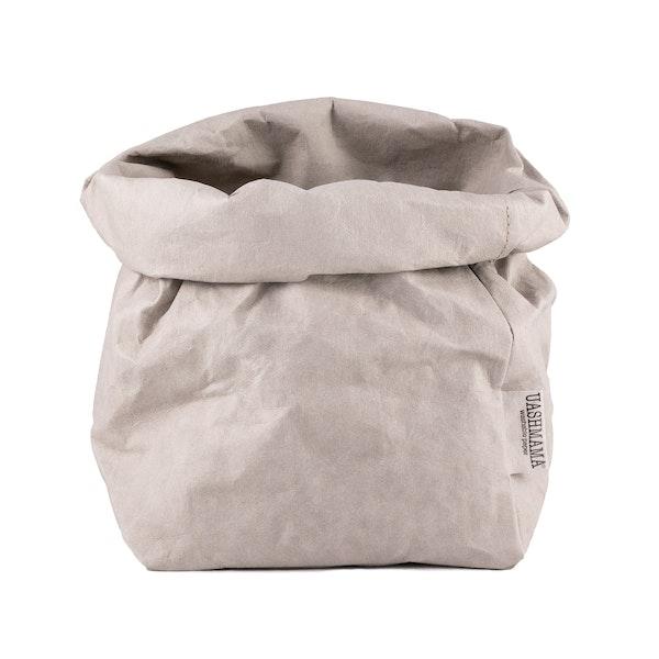UASHMAMA Paper Bag  Basic Large Plus  Grey