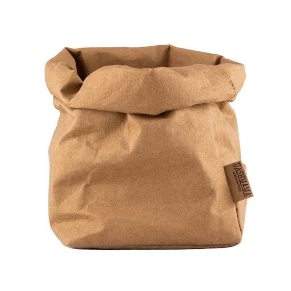 UASHMAMA Paper Bag  Basic Large Plus  Avana