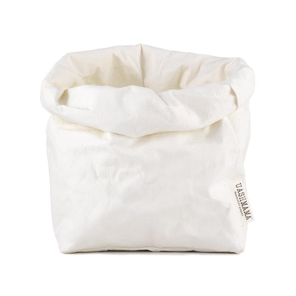 UASHMAMA Paper Bag  Basic Large Plus  White