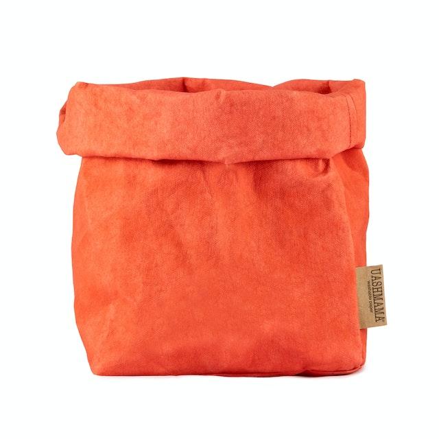 UASHMAMA Paper Bag Colored Large Plus Corallo