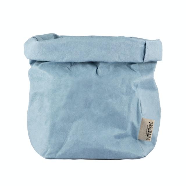 UASHMAMA Paper Bag Colored Large Plus Indaco