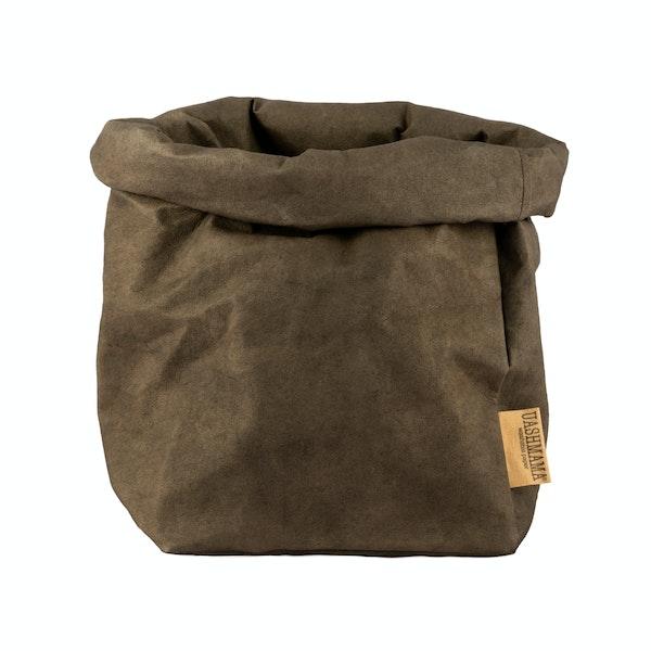 UASHMAMA Paper Bag Colored Large Plus Caffé
