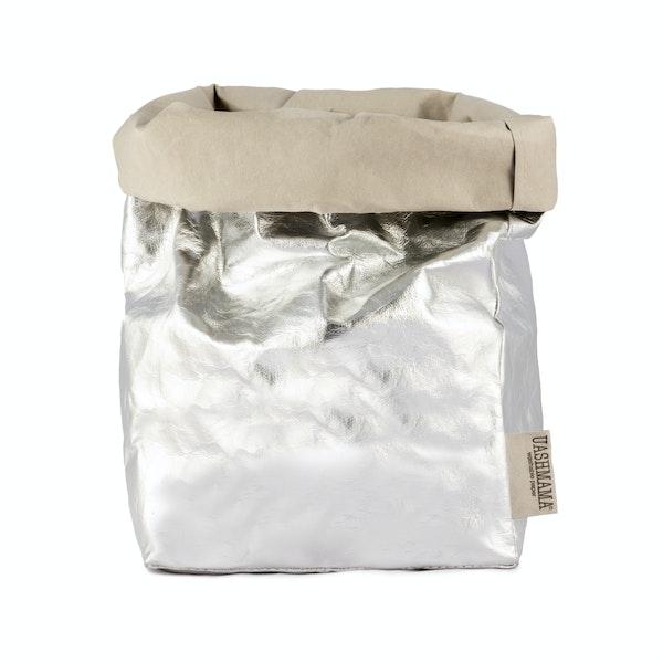 UASHMAMA Paper Bag Metallic Large Plus  GSI