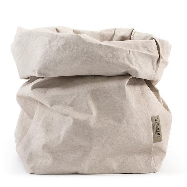 UASHMAMA Paper Bag Basic Extra Large Cachemire
