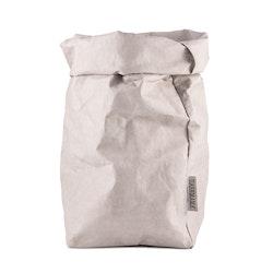 UASHMAMA Paper Bag Basic Extra Large Grey