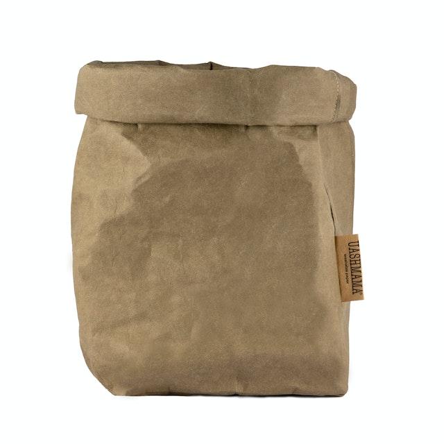 UASHMAMA Paper Bag Basic Extra Large Olive