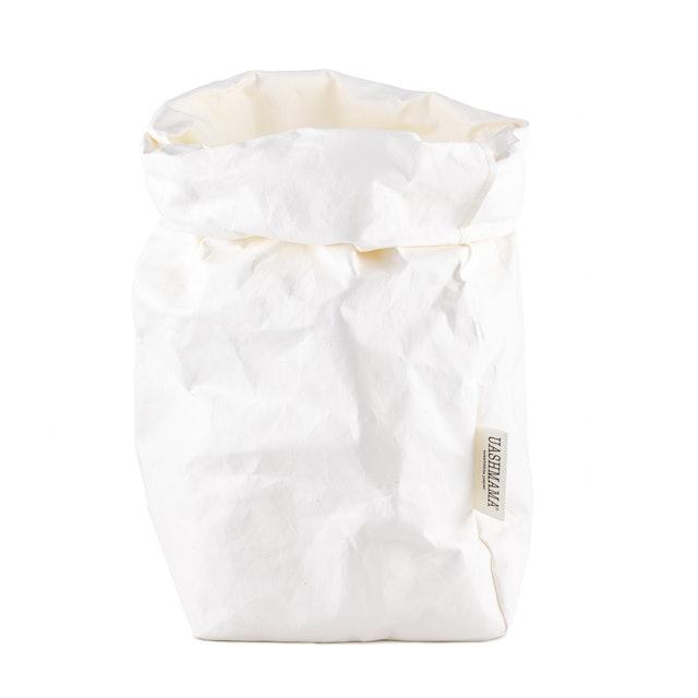 UASHMAMA Paper Bag Basic Extra Large White