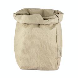 UASHMAMA Paper Bag Colored Extra Large Sabbia