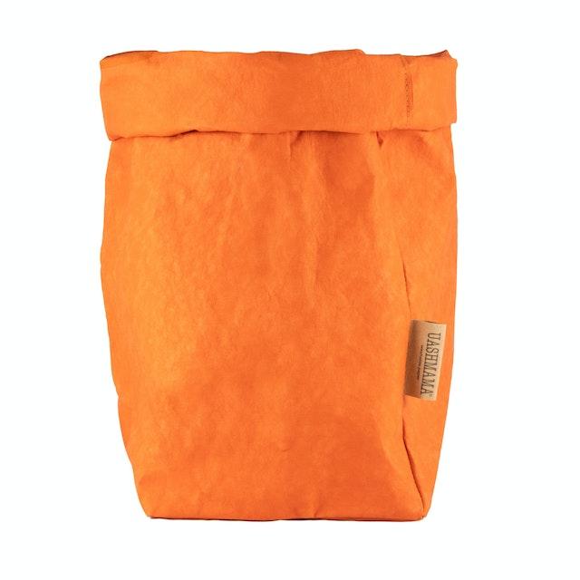 UASHMAMA Paper Bag Colored Extra Large Orange