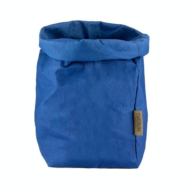 UASHMAMA Paper Bag Colored Extra Large Cobalto