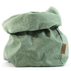 UASHMAMA Paper Bag Colored Extra Large Salvia