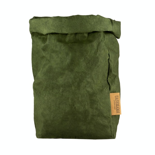 UASHMAMA Paper Bag Colored Extra Large Forest