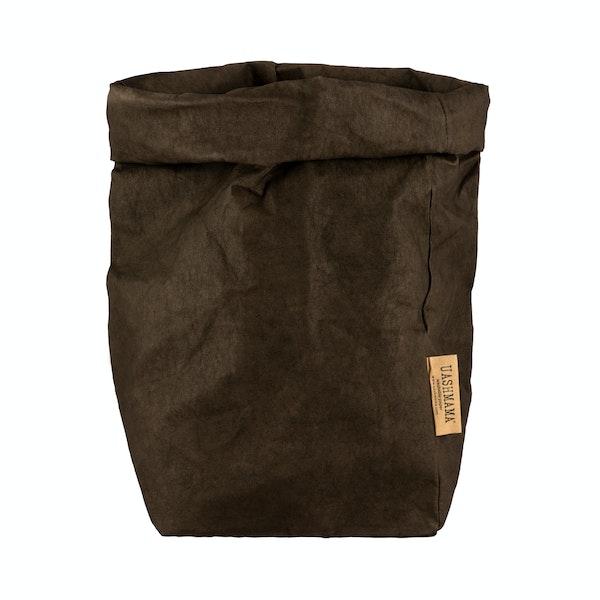 UASHMAMA Paper Bag Colored Extra Large Caffé