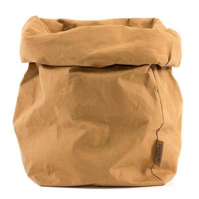 UASHMAMA Paper Bag Basic XXLarge Camel