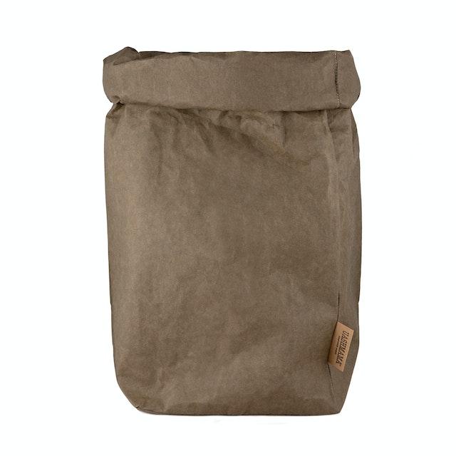 UASHMAMA Paper Bag Basic XXLarge Olive