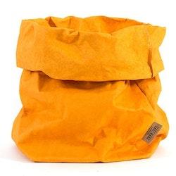 UASHMAMA Paper Bag Colored XXLarge   Senape