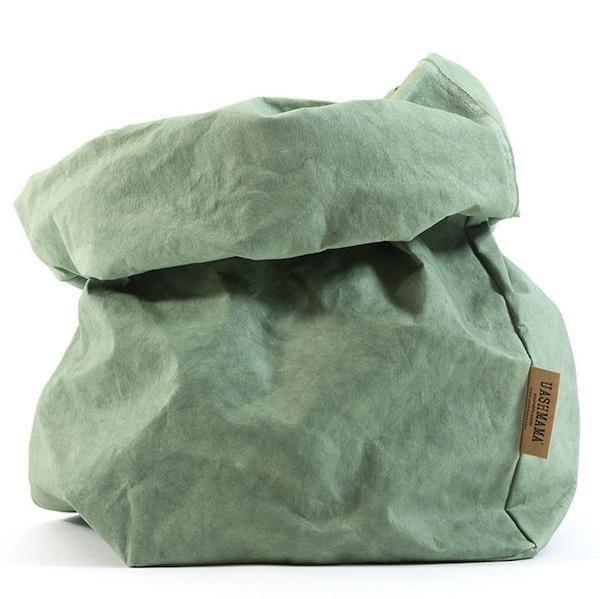 UASHMAMA Paper Bag Colored XXLarge   Salvia