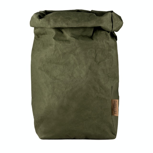 UASHMAMA Paper Bag Colored XXLarge   Forest