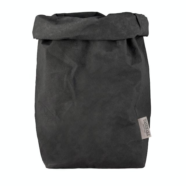 UASHMAMA Paper Bag Colored XXLarge   Dark Grey