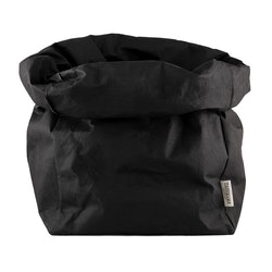 UASHMAMA Paper Bag Basic Gigante Black