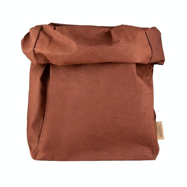 UASHMAMA Paper Bag Colored Gigante Cognac