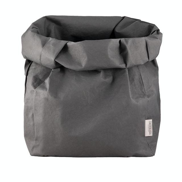 UASHMAMA Paper Bag Colored Gigante Dark Grey