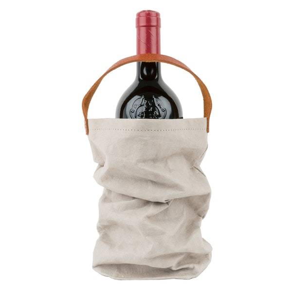 UASHMAMA Wine Bag Grey