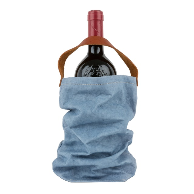 UASHMAMA Wine Bag Indaco