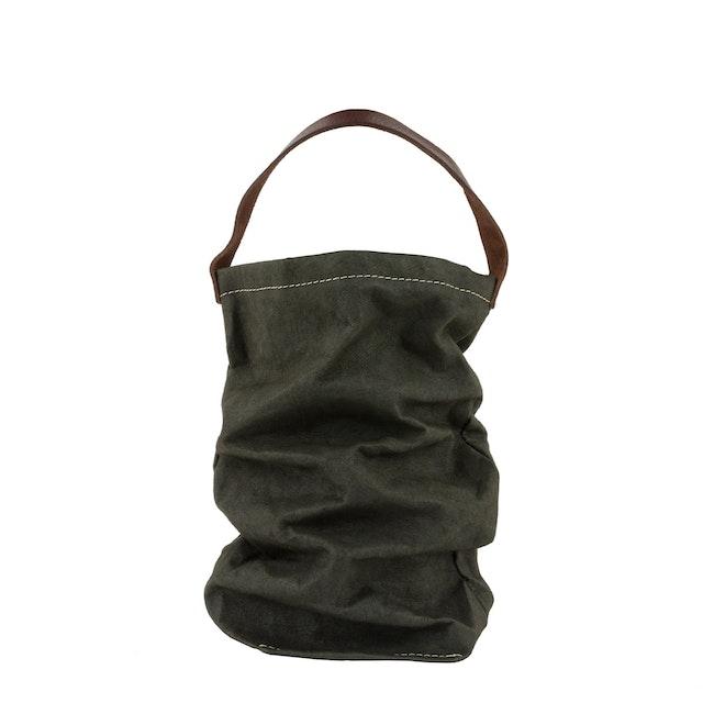 UASHMAMA Wine Bag Dark Green