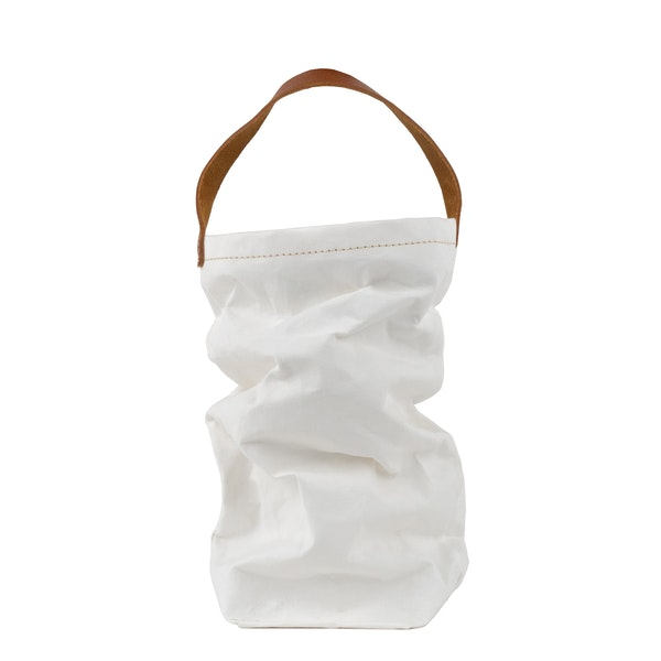UASHMAMA Wine Bag White