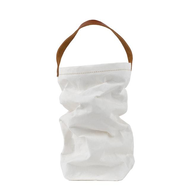 UASHMAMA Wine Bag White