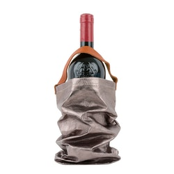 UASHMAMA Wine Bag Metallic Metallic Peltro