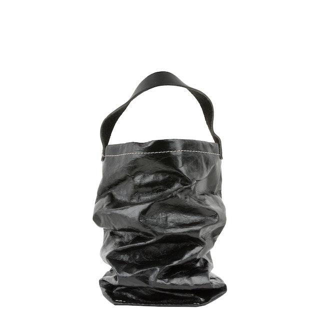 UASHMAMA Wine Bag Metallic Metallic Black